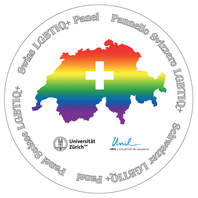 The logo of the swiss LGBTIQ+ Panel