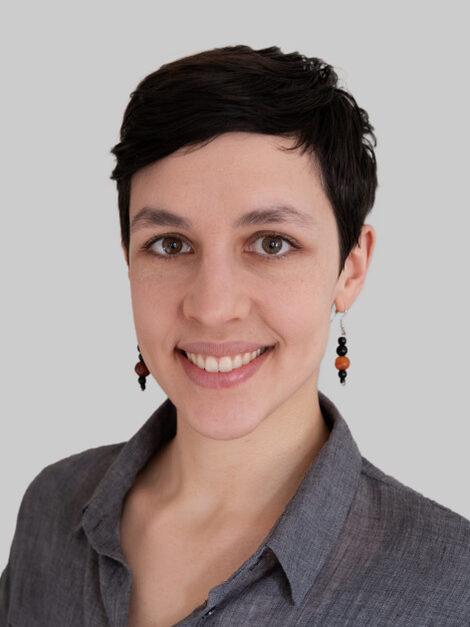 Ein Portraitbild von Patrizia Eicher.